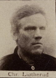 Sjakthauer Christian J. Ljøterud (1836-1896) (Foto/Photo)