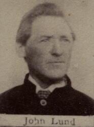 Myntarbeider Johan S. Lund (1836-1915) (Foto/Photo)