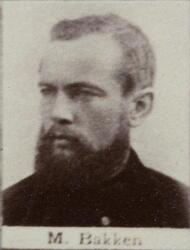 Borhauer Martin A. Bakken (1860-1931) (Foto/Photo)