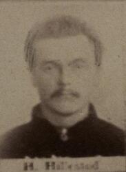 Borhauer Hans J. Hillestad (1856-1903) (Foto/Photo)