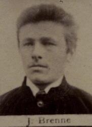 Borhauer Johannes H. Brenne (1862-1893) (Foto/Photo)