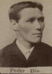 Borhauer Peder H. Øien (1859-1907) (Foto/Photo)