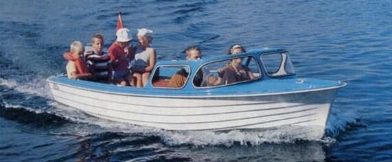 «Velg kvalitet! Velg en Herwa-båt, da er De sikker …», sto det på en reklamebrosjyre for familiebåten herwa 15 fot på 1960-1970tallet. Foto: Herbert Waarum/Vest-Agder-museet (Foto/Photo)