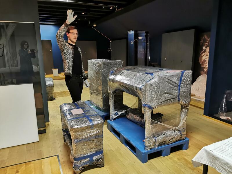 Prosjektleder Lars Erik Brustad Melhus har planer om snarlig gjensyn med hammondorgelet. (Foto/Photo)