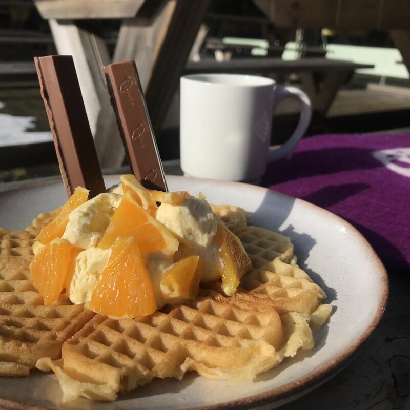 Kafe Anno sin påskevaffel (Foto/Photo)