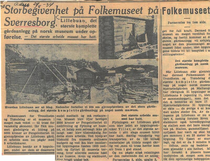 Adresseavisen 24.11.1934 (Foto/Photo)