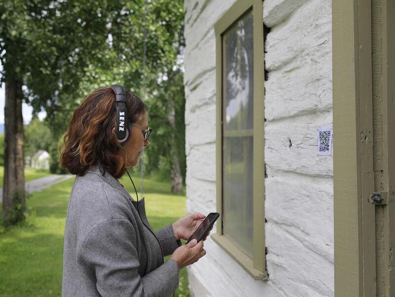 Museet lanserte digital formidling for alle våre bygninger sommeren 2020. (Foto/Photo)