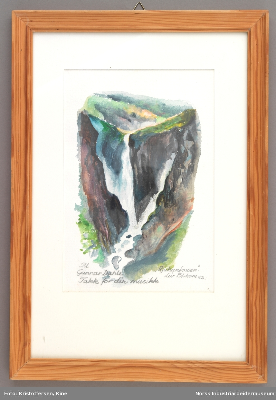 Rjukanfossen i Tinn