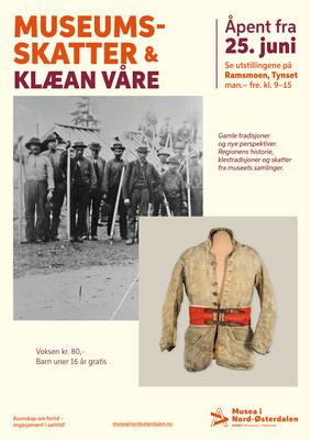 Plakat_Museumsskatter_og_Klan_Vare_A3.png. Foto/Photo