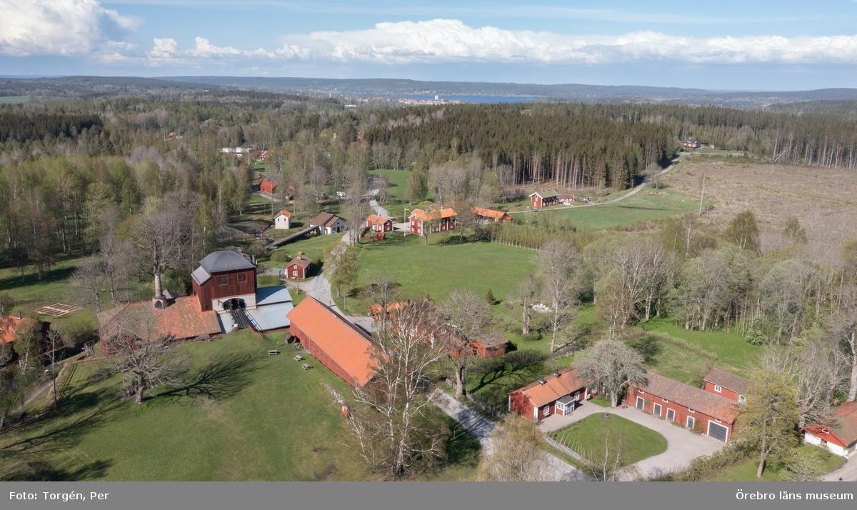 Filmklipp från Pershyttan. Masungsområdet och Storgryvan.