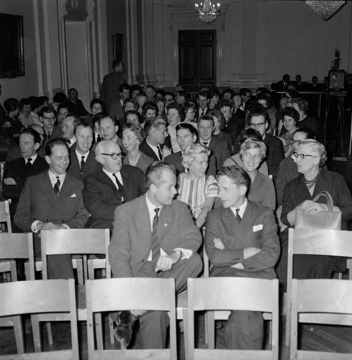 Reklamföreningen - försäljningskurs på Östgöta nation, Uppsala 1960
