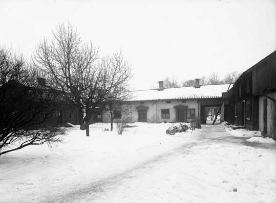 Gårdsinteriör på Hamngatan nr 16, Västerås.