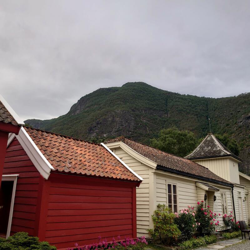Vangsgaarden gjestgiveri, Aurland. Foto: Silje Cathrin Fylkesnes. (Foto/Photo)