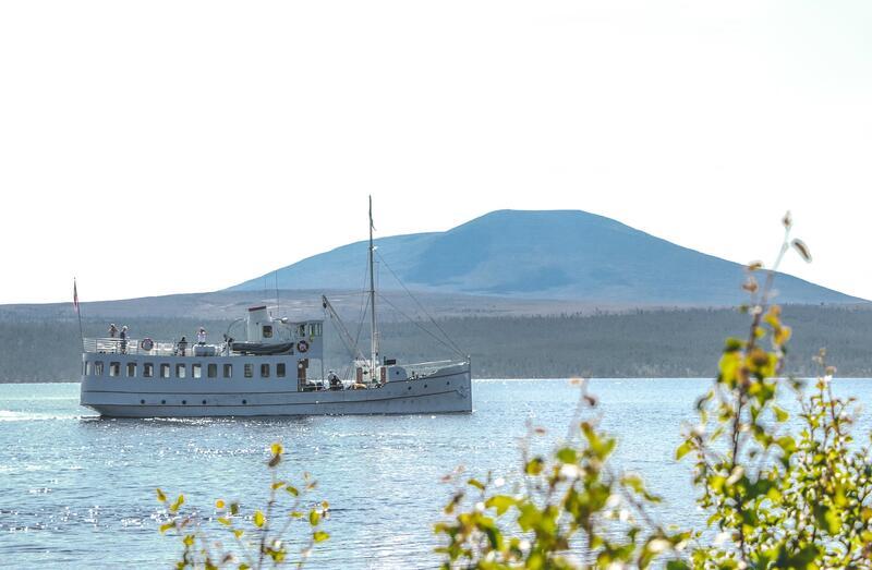 M/S Fæmund II - under seilas (Foto/Photo)