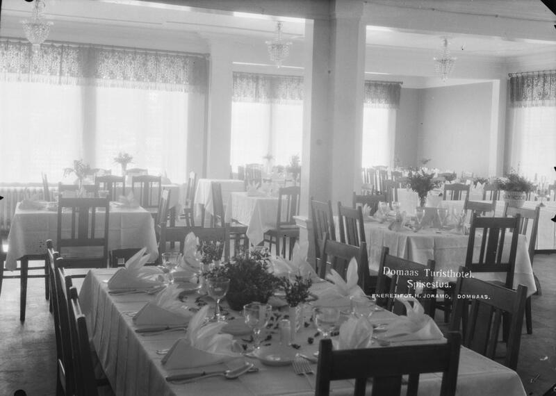 Dombås hotell/Domaas Turisthotell, Dombås, ca. 1910-40. Foto: Hans Joramo/Maihaugen. (Foto/Photo)