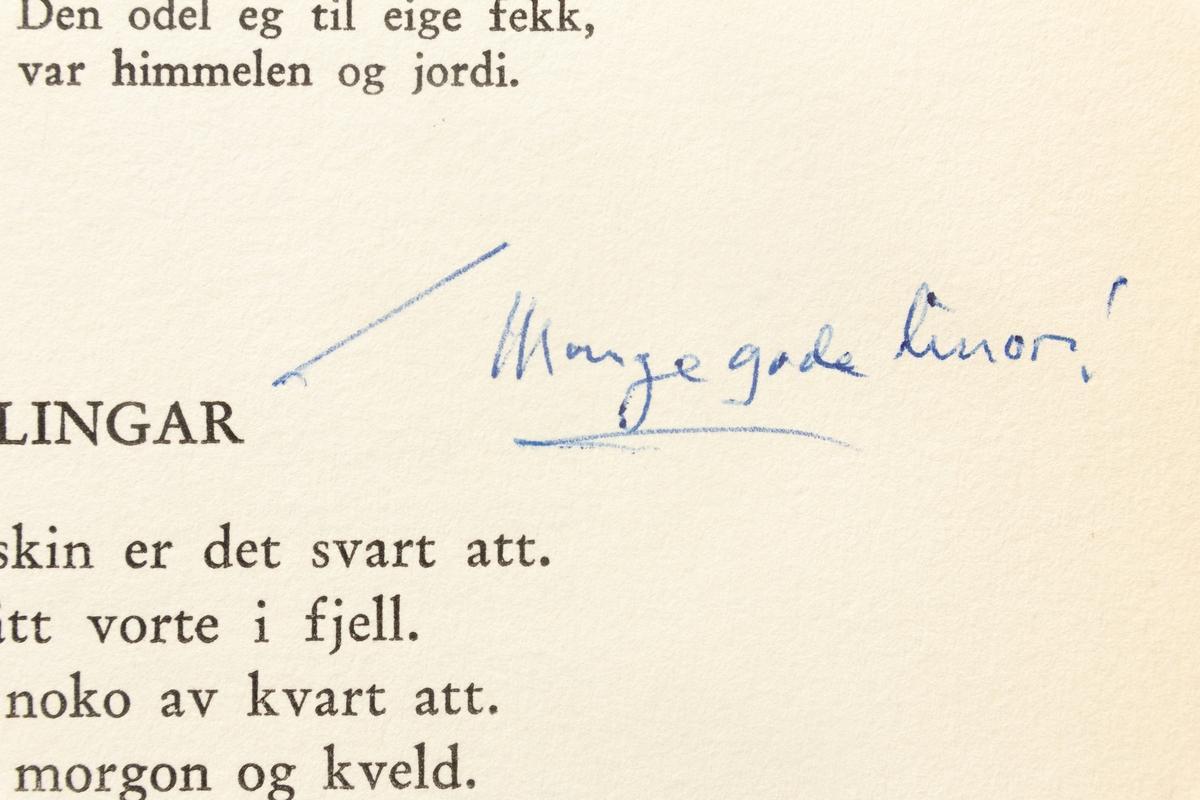 Olav Aukrust: Dikt i Samling, Band 1