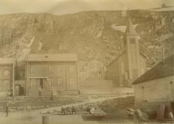 Den kath. kirke i H.fest 1899