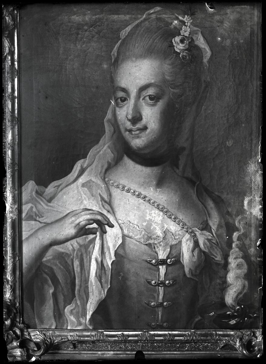 Porträtt av dam