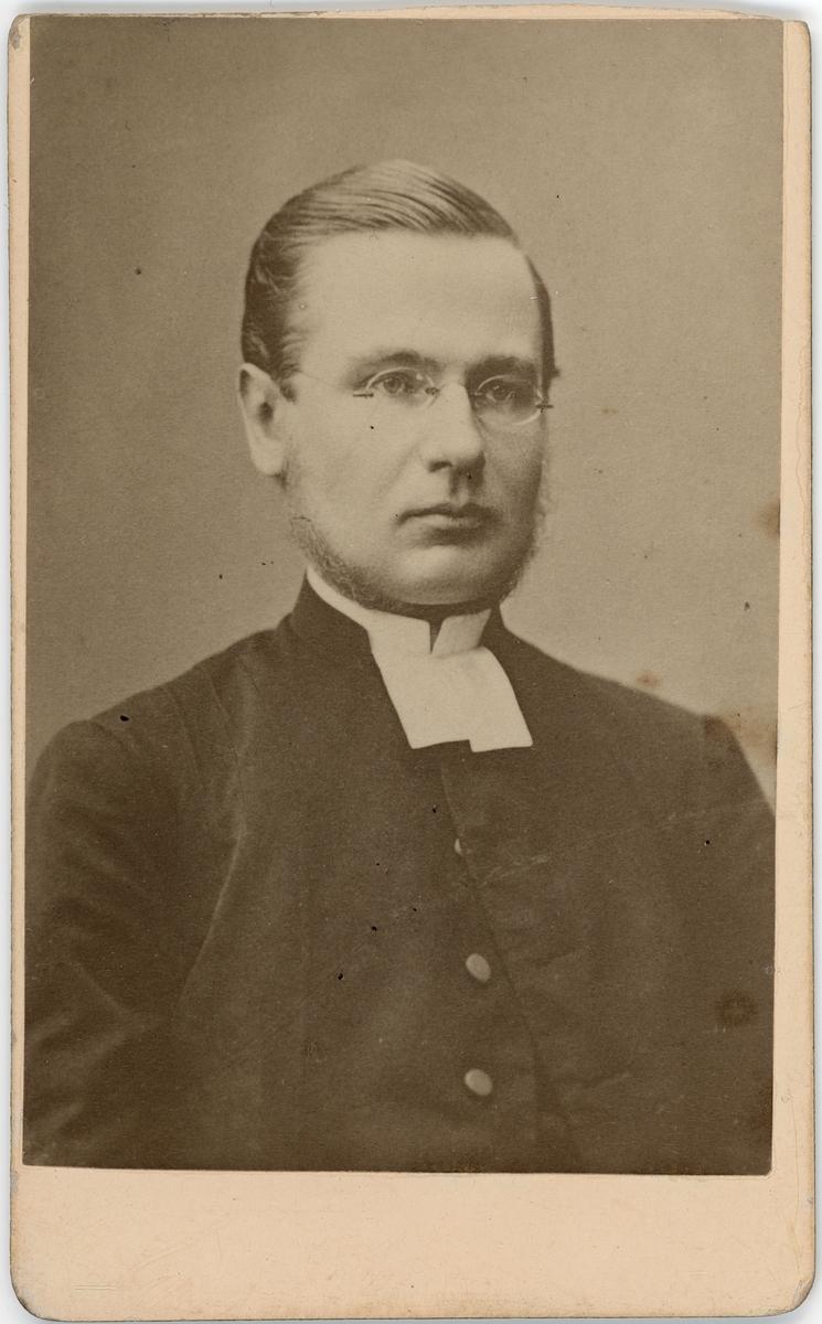 Kabinettsfotografi - präst, Göteborg