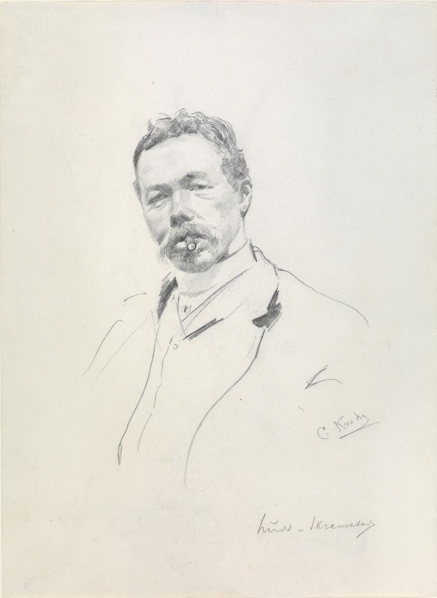 Ludvig Skramstad [Tegning]