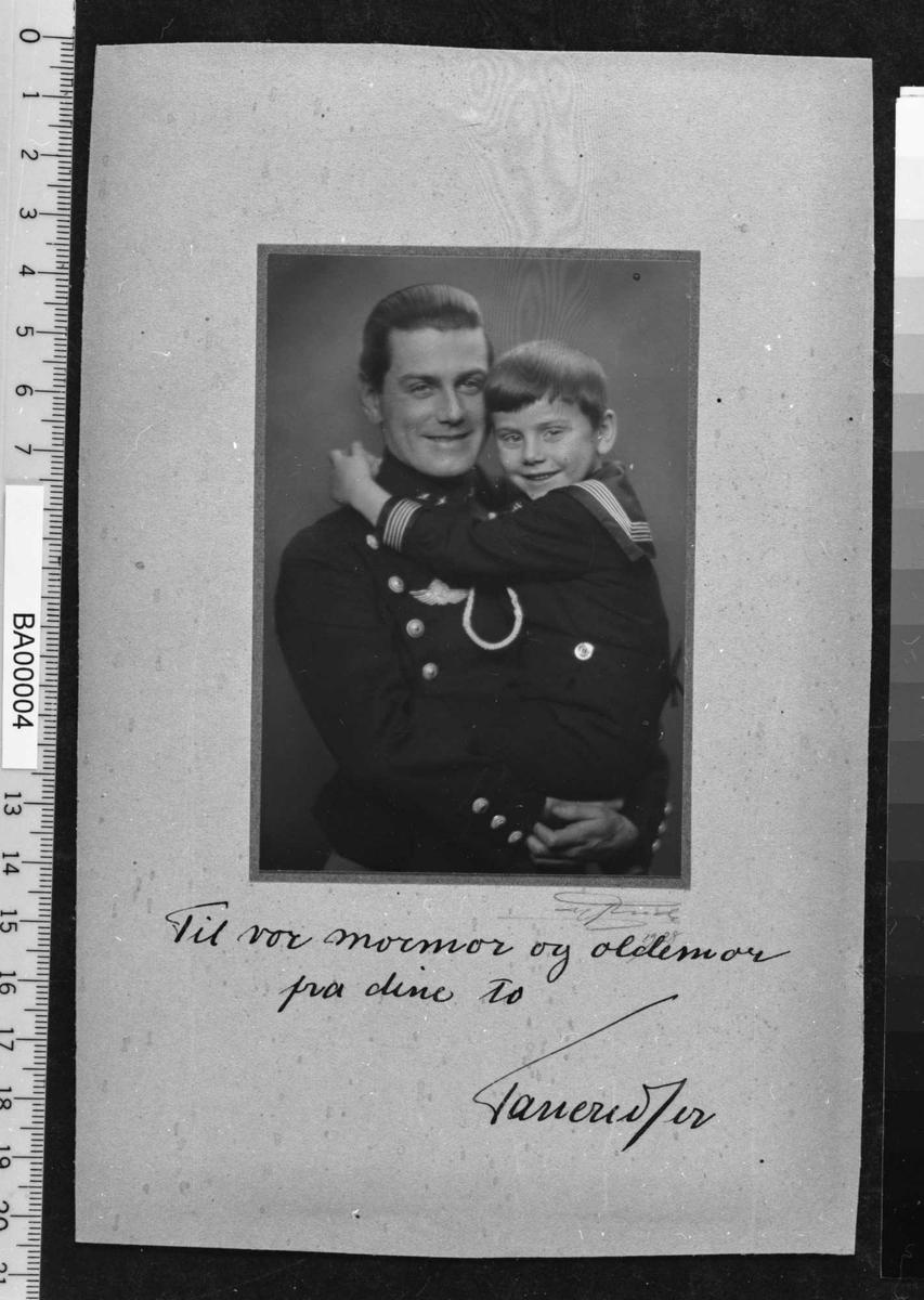 Tancred Ibsen, barnebarn, oldebarn
