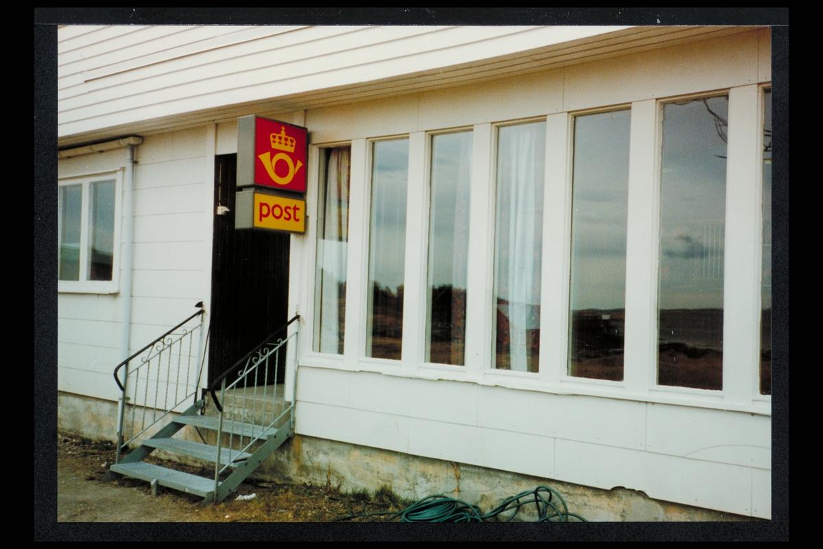 eksteriør, postkontor, 8723 Husby, postskilt