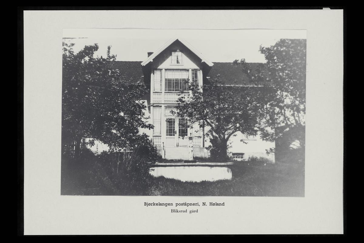 eksteriør, poståpneri, 1940 Bjørkelangen