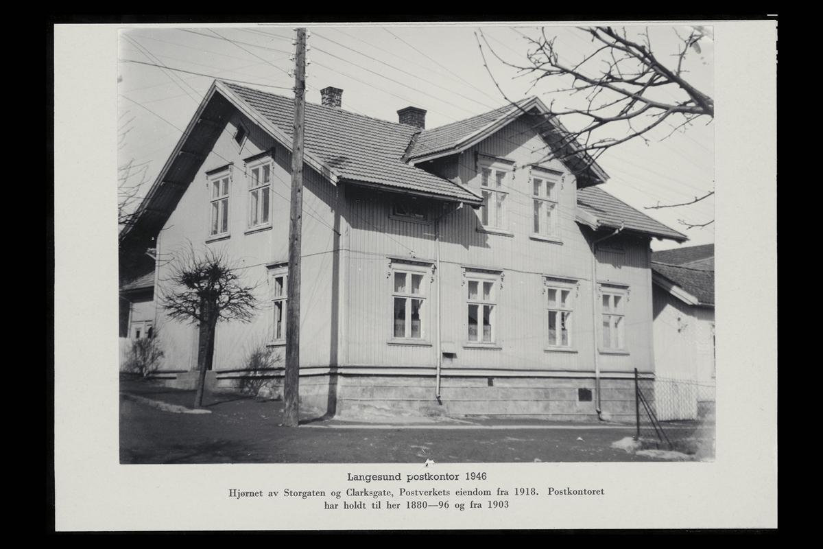 eksteriør, postkontor, 3970 Langesund