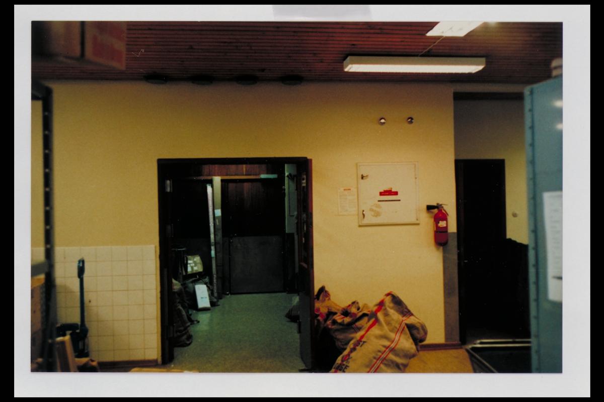 interiør, postkontor, 3600 Kongsberg, postsekker