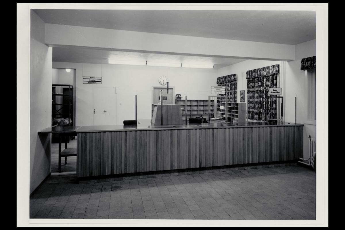 interiør, postkontor, 8400 Sortland, publikumshall