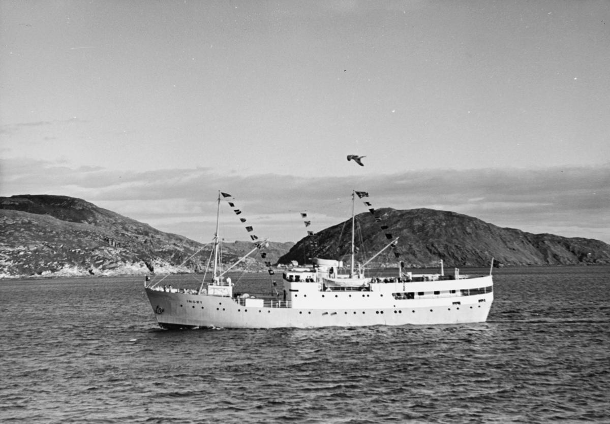 transport båt, eksteriør, D/S Ingøy