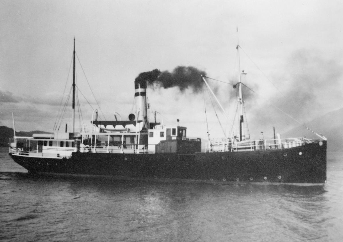 transport båt, eksteriør, D/S Solskjel
