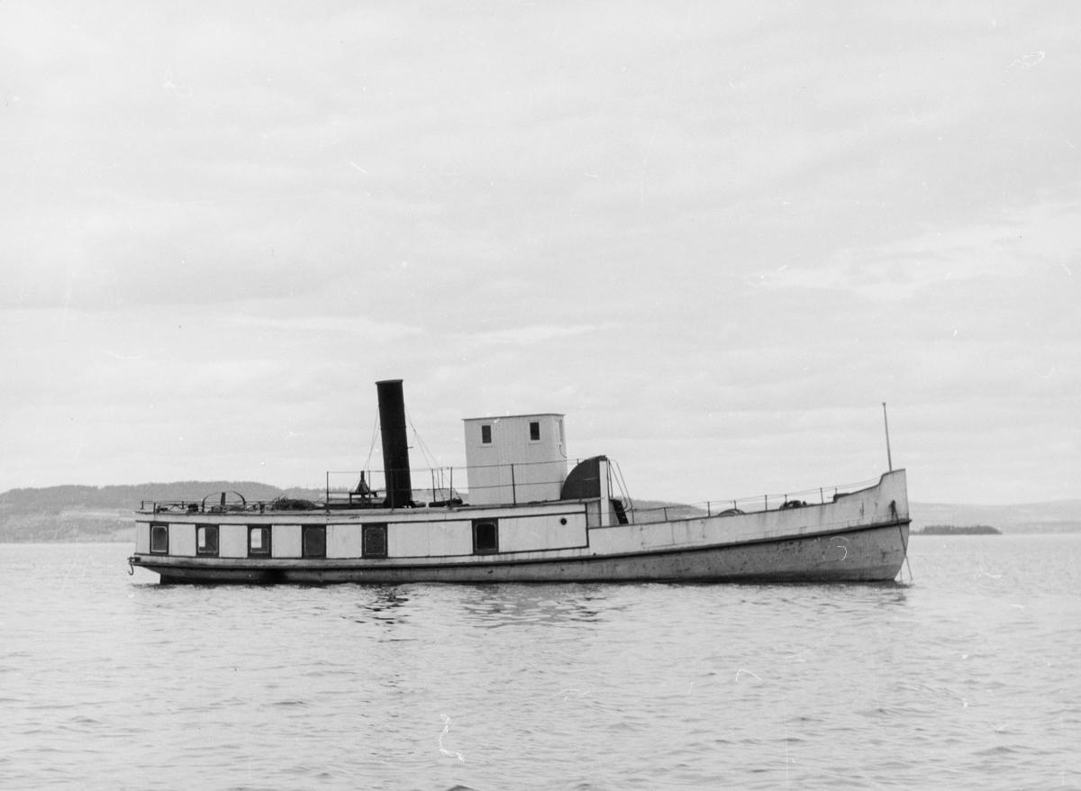 transport båt, eksteriør, Mjøsa, D/S Bundefjord, på vann