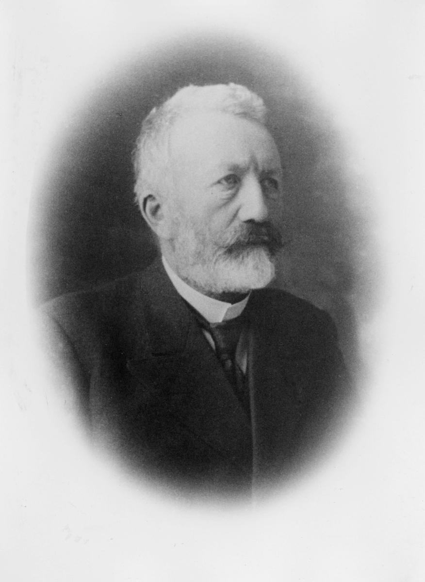 portrett, postmester, Erik Frydenlund