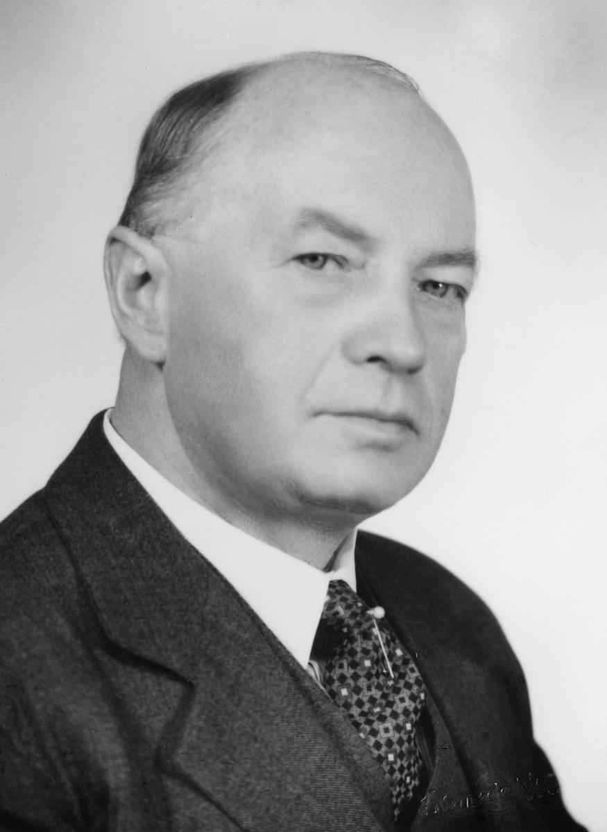 portrett, byråsjef, Thor Halfdan Grimsgaard Kristensen