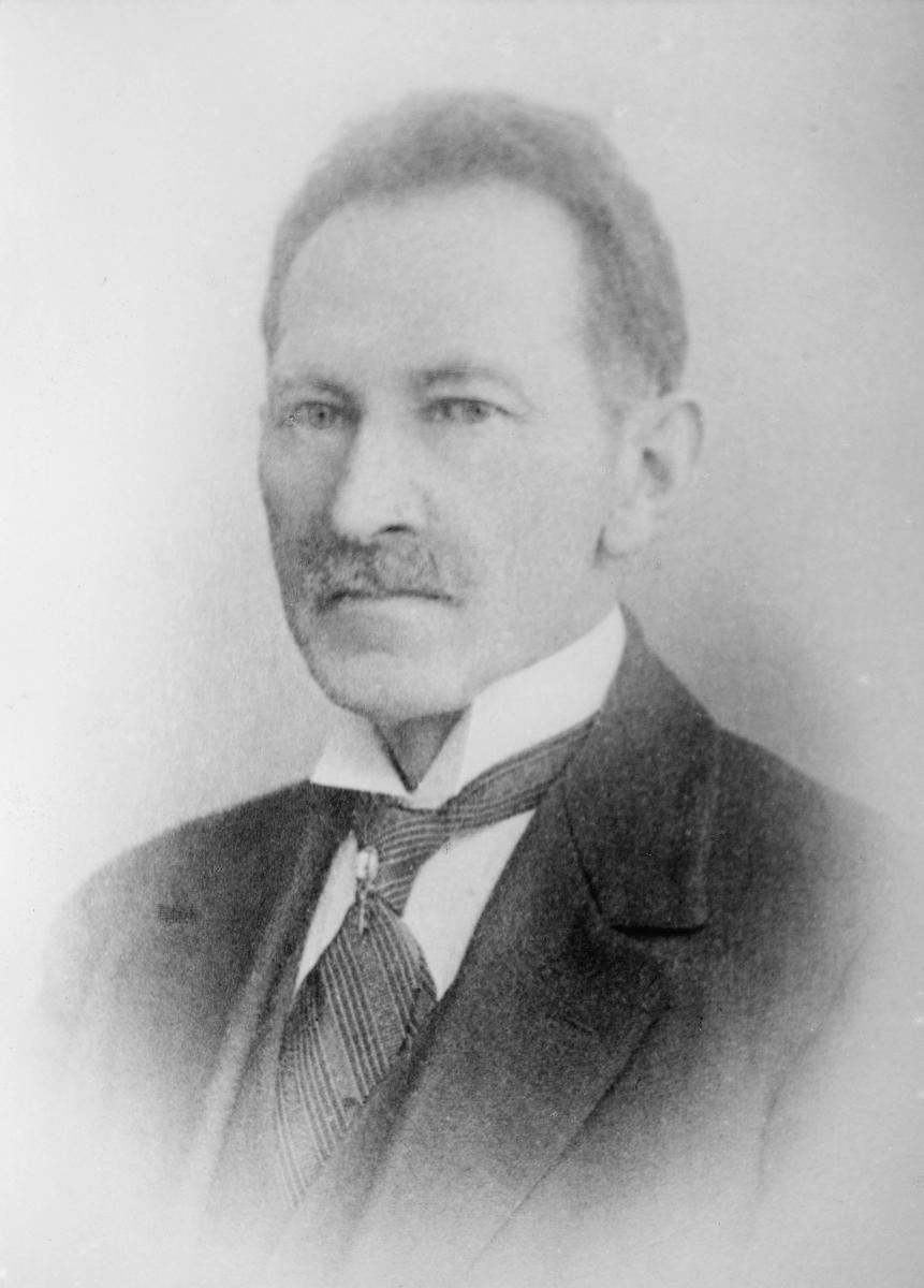 portrett, postmester, Severin Oscar Nilsen
