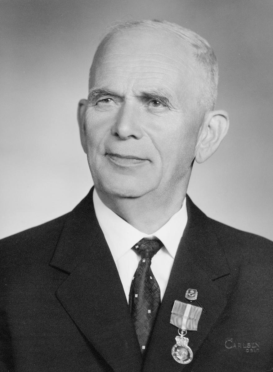 postmester, Pettersen Anselm Kinstantius, portrett
