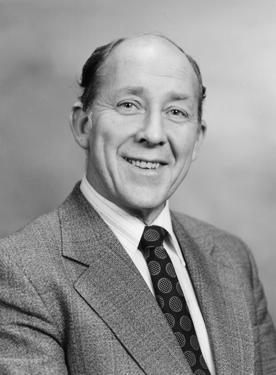 postmester, postsjef, Stautland Paul Sigve, portrett