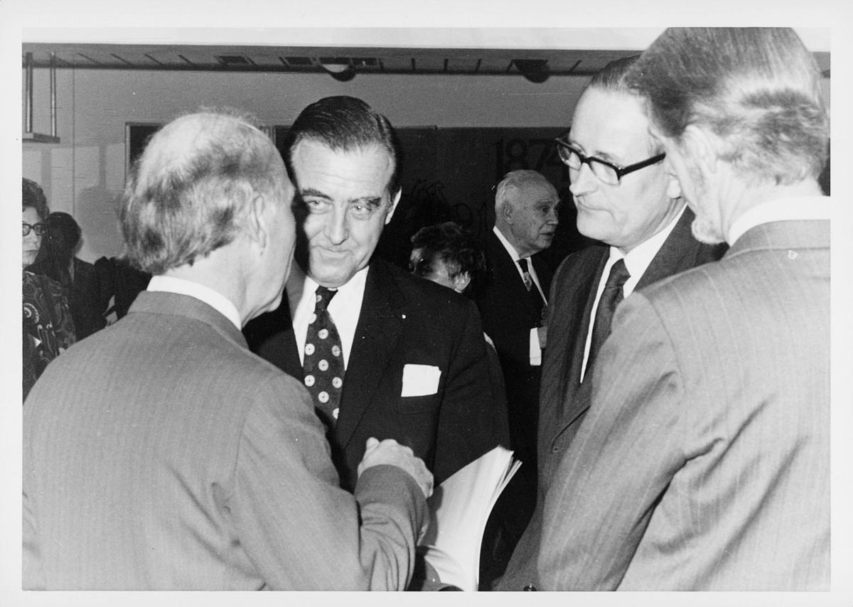 markedsseksjonen, verdenspostforeningen, stortingsrepresentant, Albert Nordengen, Ragnvald Rustung Bru