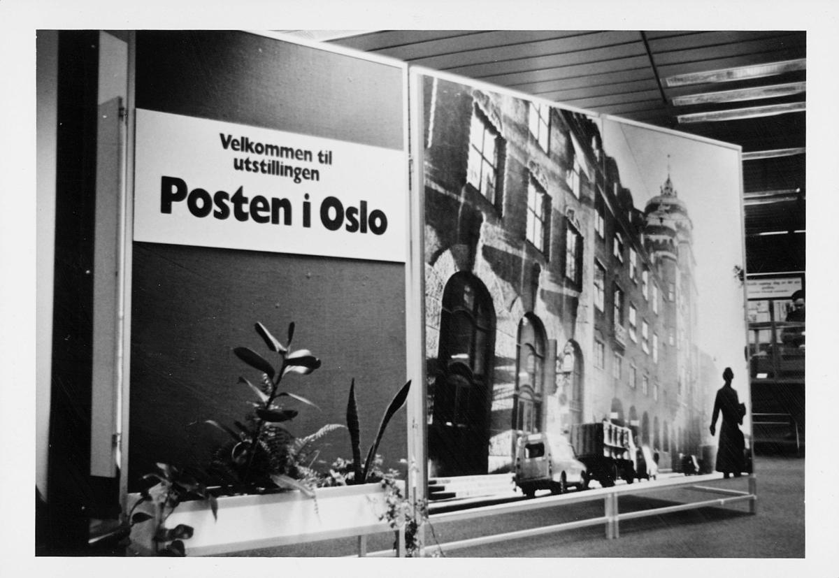 markedsseksjonen, Oslo postgård 50 år, utstilling, byhistorie, informasjon