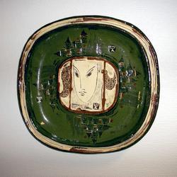 Ovale fat [Keramikk]