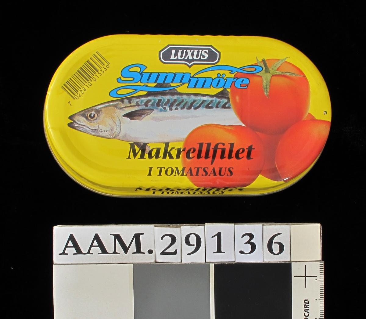 Makrell  og tomat