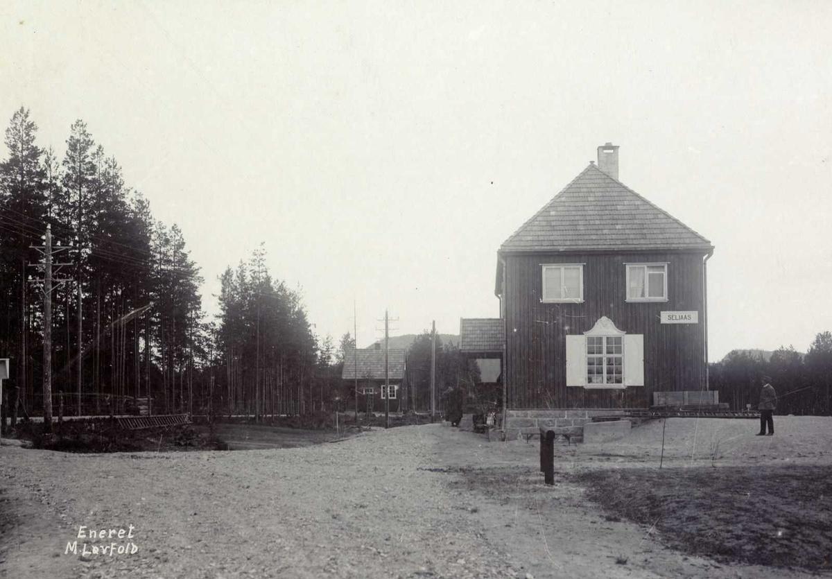 Åmlibilder Seljås stasjon