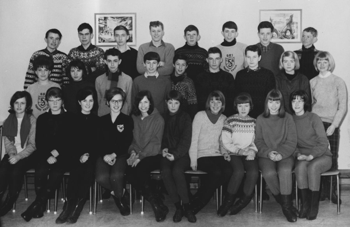 Ski skole - 1963 - Anne Elisabeth