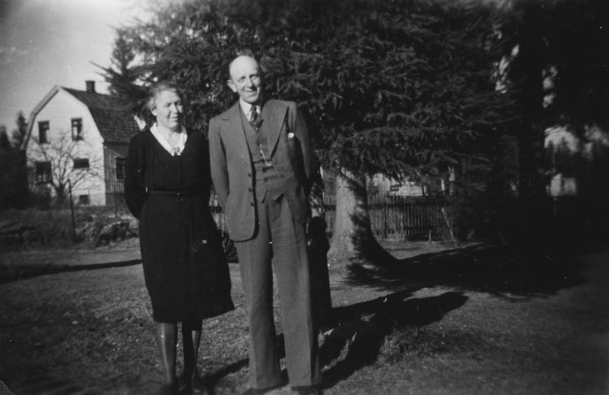 Henriette og Karl Dammen.