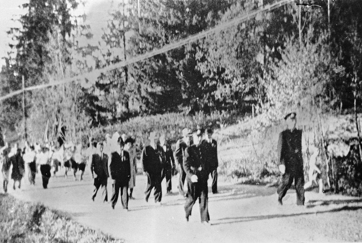 17. mai toget i frigjøringsåret 1945.