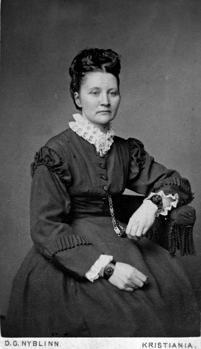 Dorthea Sundby fra Sundby gård.