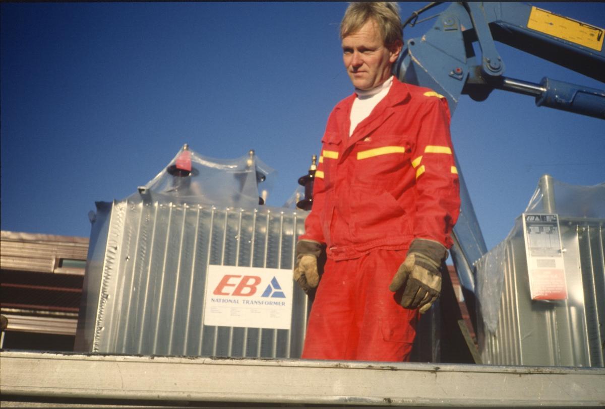 Transport av transformatorer, Bjørn Gunnar