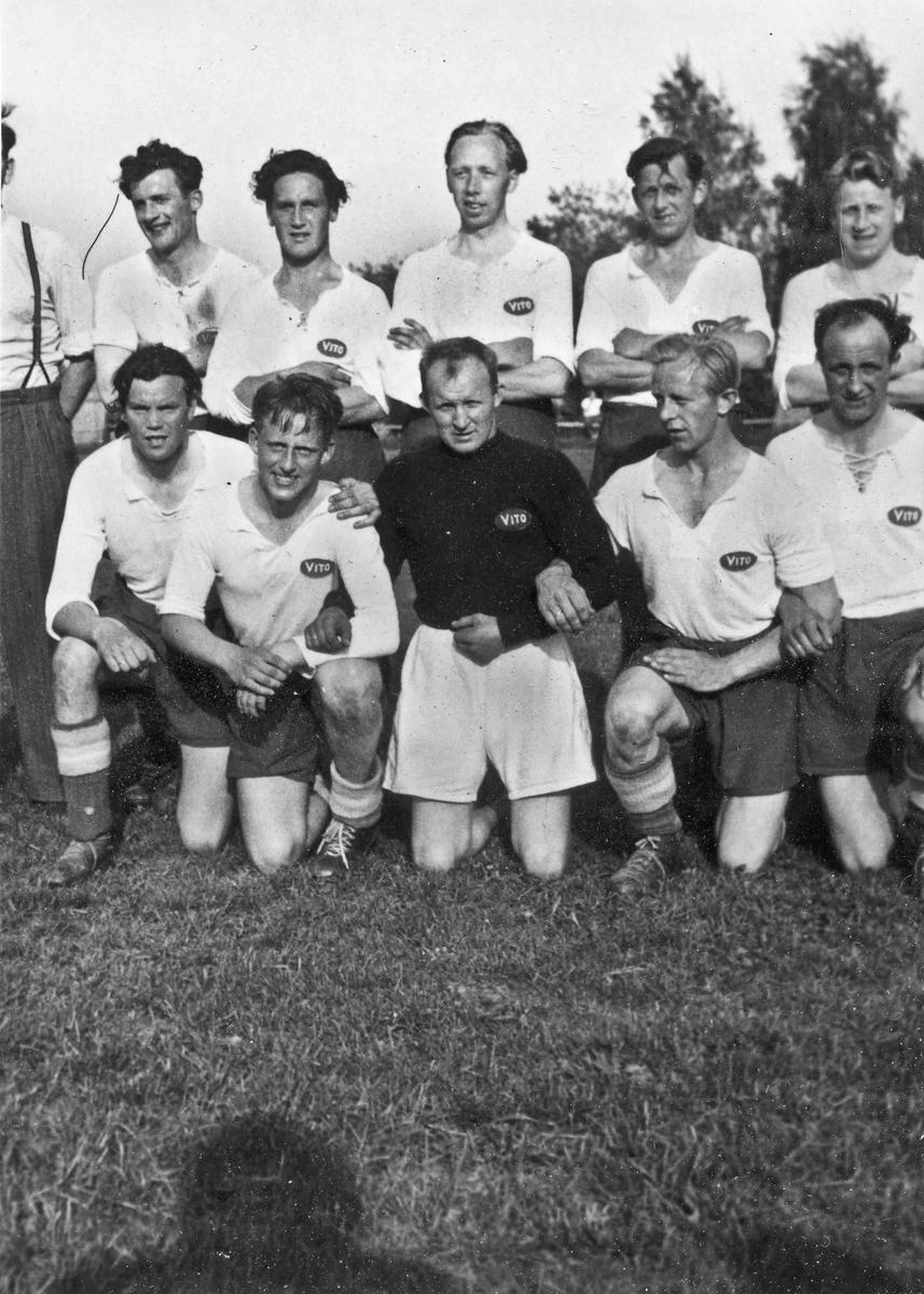 Et fotballag. VITO – stiftet 1948 og oppløst i 1968.