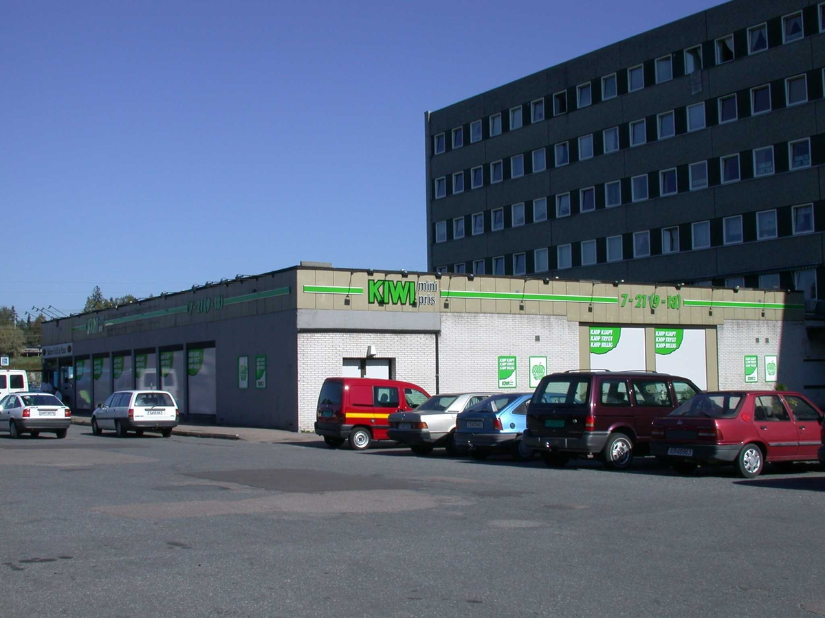 Solheimsenteret Kiwi-butikk Fotovinkel: NØ
